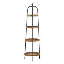 Loft Collection Round Display Shelf