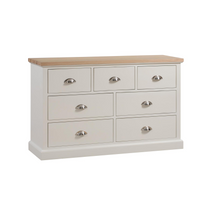 The Ripley Oak Collection Three Over Four Drawer Chest
