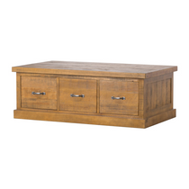 The Deanery Collection Six Drawer Coffee Table