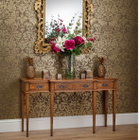 AMC 59 Console Table Burr Walnut