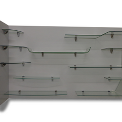 Thermoformed Glass Shelving