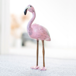 Painted Finish Flamingos
