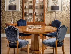 Burr Walnut Dining Room