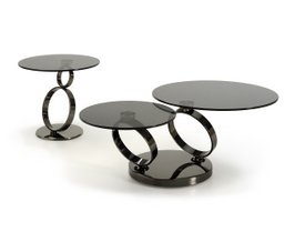 Geo Coffee and Lamp Table