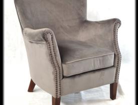 Armchair Viola Grey