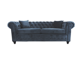 Scatter Box Washington Three Seater Sofa, Midnight