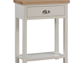 The Ripley Oak Collection One Drawer Console Table