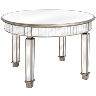 The Belfry Collection Grand Mirrored Dining Table