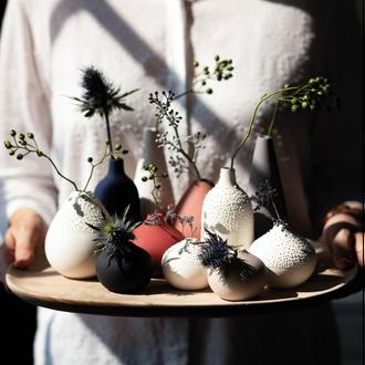 Beaded Vases