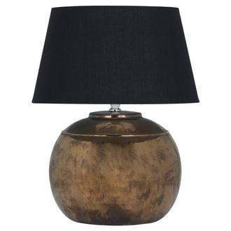 Regola Bronze Metallic Ceramic Table Lamp