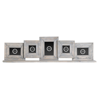 Grey Distressed Mantel Multi Frame