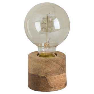 Hardwood Bulb Holder