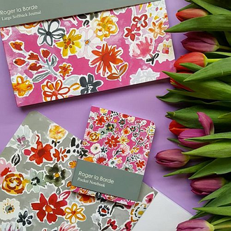 Petals on Pink Stationery Collection