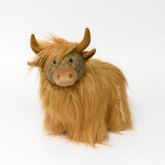 Fergus Highland Cow Doorstop - DS10