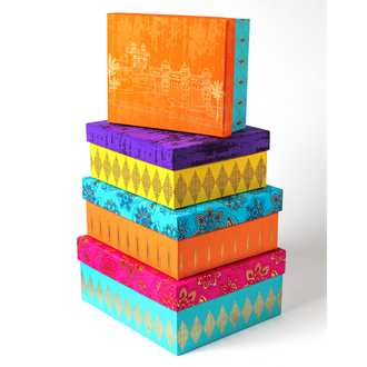 Contemporary & Bright Handmade Boxed Set