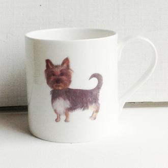 Yorkshire Terrier Handmade Fine Bone China Mug