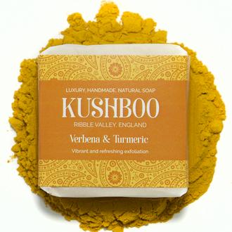 Kushboo Verbena and Turmeric Vegan Soap