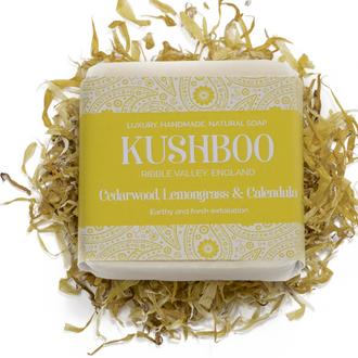 Cedarwood, Lemongrass & Calendula Soap
