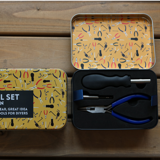 Gifts for Grown Ups - Tool Set in a Tin