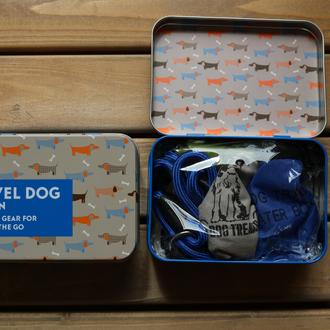 Gifts for Grown Ups - Travel Dog in a Tin