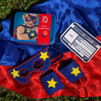 Gift in a Tin - Be a Superhero