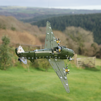 Gift in a Tin - Fighter Plane Construction Kit