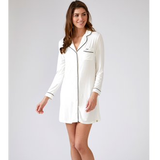 Pretty You London Bamboo Nightwear - Nightshirt