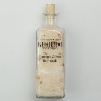 Geranium and Rose Bath Soak