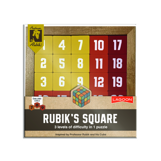 Rubik's Magic Square