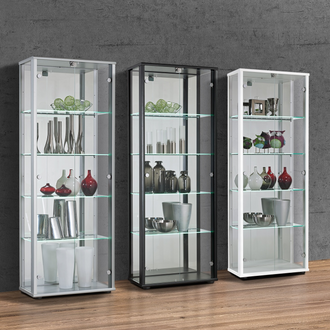 GLASS DISPLAY CABINETS MADE IN GERMANY