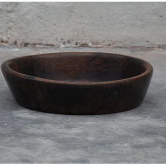 Wooden chapati plate