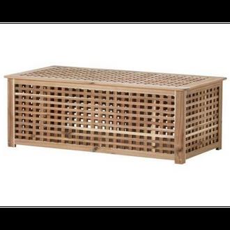 Rectangular wooden basket NFC-T015
