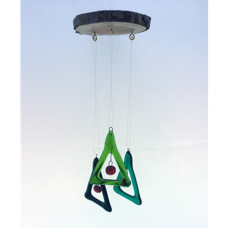 Fused Glass Mobiles