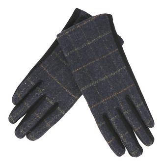 Tweed Tartan Gloves