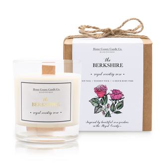 THE BERKSHIRE - ROYAL COUNTRY ROSE SOY CANDLE
