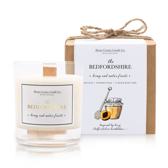 THE BEDFORDSHIRE - HONEY AND NECTAR FRUITS SOY CANDLE