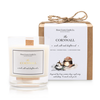 THE CORNWALL - ROCK SALT AND DRIFTWOOD SOY CANDLE