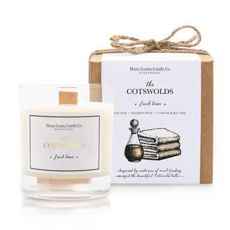 THE COTSWOLDS - FRESH LINEN SOY CANDLE
