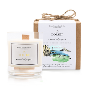 THE DORSET - SEAWEED AND JUNIPER SOY CANDLE