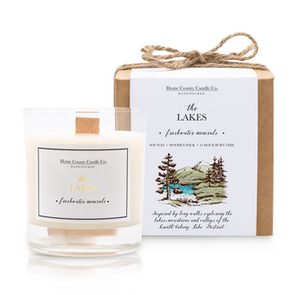THE LAKES - FRESHWATER MINERALS SOY CANDLE
