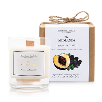 THE MIDLANDS - DAMSON AND BRAMBLE SOY CANDLE