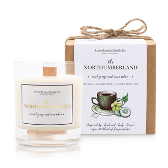 THE NORTHUMBERLAND - EARL GREY AND CUCUMBER SOY CANDLE