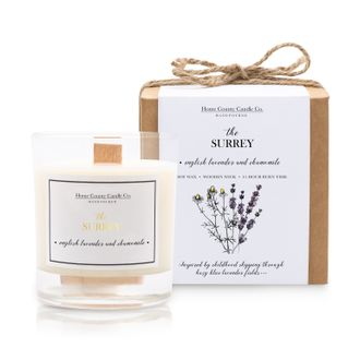 THE SURREY - ENGLISH LAVENDER AND CHAMOMILE SOY CANDLE