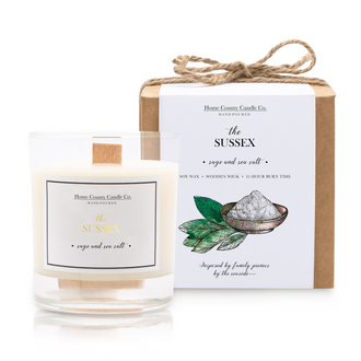 THE SUSSEX - SAGE AND SEA SALT SOY CANDLE