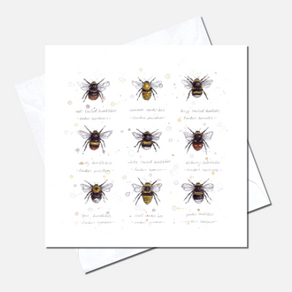 Buzz & Bumble Greetings Card