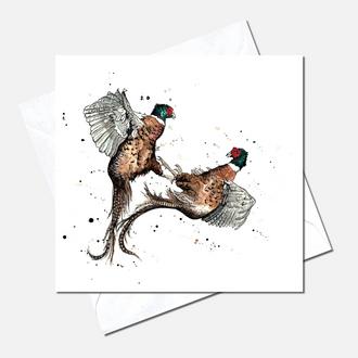 Rough & Tumble Greetings Card