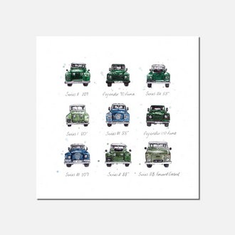 Landy Legends Limited Edition Print