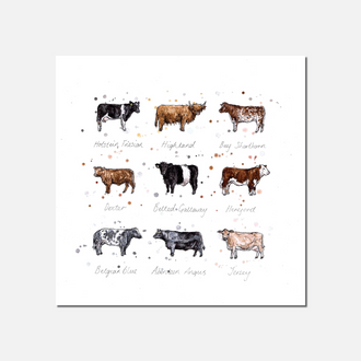Moo Limited Edition Print