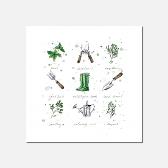 Gardeners' World Limited Edition Print