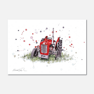 Massey Limited Edition Print